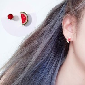 Jewelry - NEW cute watermelon stud earrings